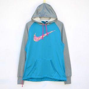 Nike Therma Fit Sweatshirt Hoodie Size Large